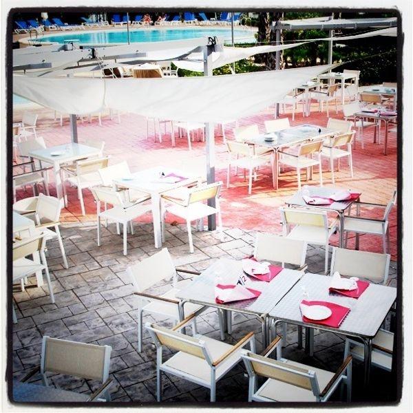 Terraza de Verano Hotel Spa Torre Pacheco  http://www.hotelspa-torrepacheco.com/esp/index.php
