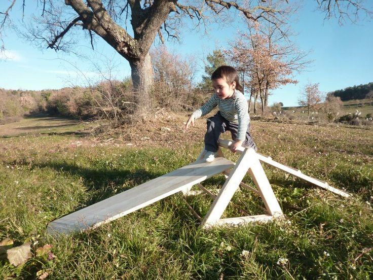 Pikler triangle slide