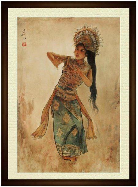 Lee Man Fong - Penari Bali