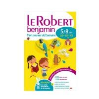 Dictionnaire Robert benjamin