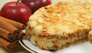 Cuca de maçã: A melhor receita! - Receita do Dia