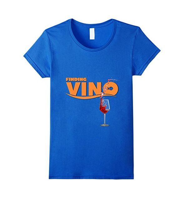 When you want to get lost in an ocean of wine this is the perfect finding vino shirt. A parody on getting lost at sea it is time to find yourself some good vino and have a night out.