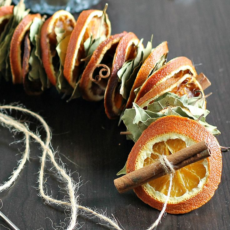 DIY Dried Orange Garland Have you every made a dried orange garland? The drying process takes some time, but overall its pretty easy to make. My sister and I used to make these for our herbal shop ...