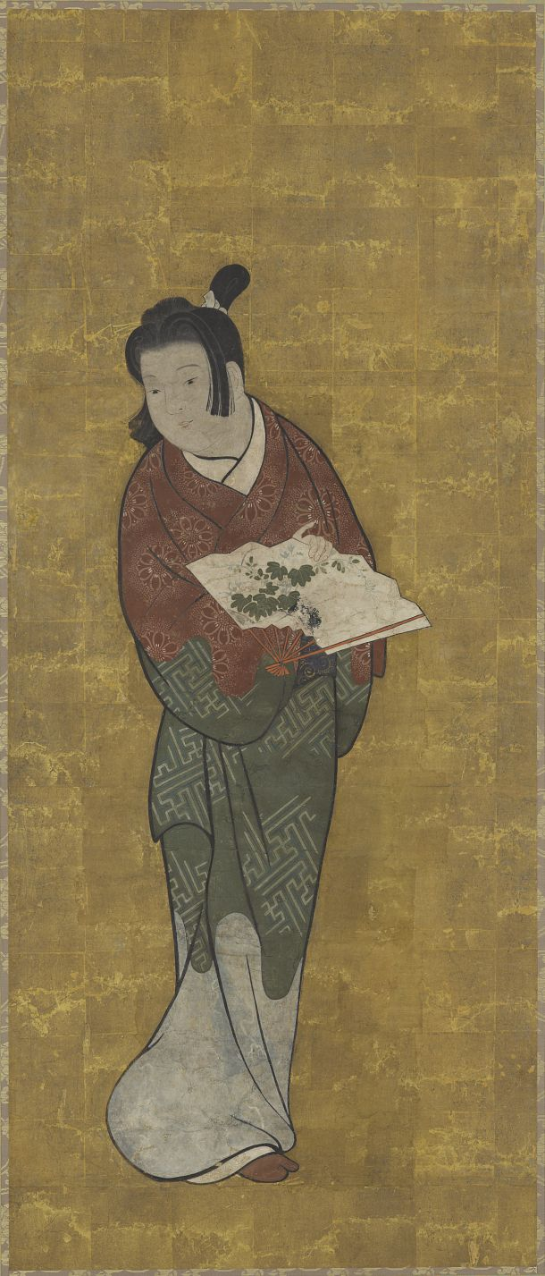 Color in japanese art - Medium Color And Gold On Paper Origin Japanese Drawingsjapanese Printsjapanese Artedo