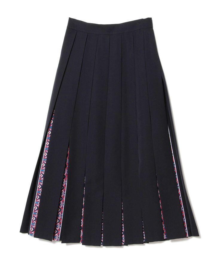 Ray BEAMS(レイ ビームス)WHITE MOUNTANIEERING / プリーツ スカート(スカート マキシ・ロング丈スカート)通販 BEAMS