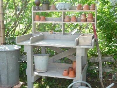 Lydias Gröna Fingrar: planteringsbord