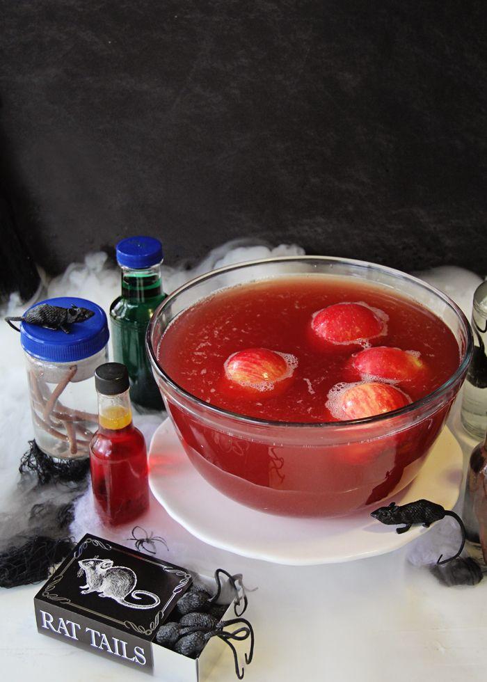 poison apple halloween punch living litehouse blog - Halloween Punch Alcoholic