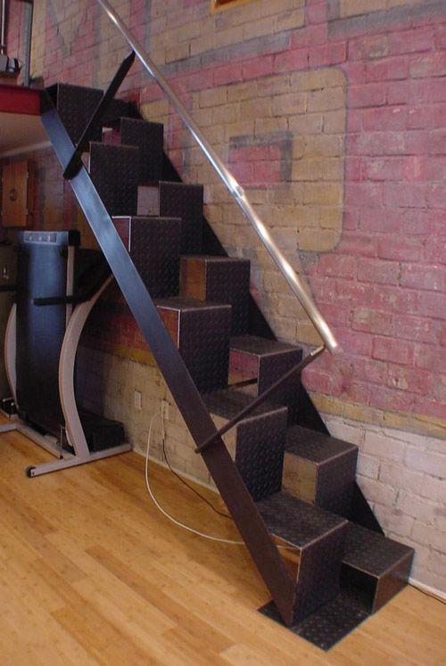 Dicas para escadas interiores modernas para pequenos espaços – ShopDesign   – arquitetura