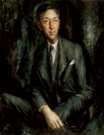 Sir Hudson Fysh KBE DFC, 1950  -  William Dobell Gift of the Australian War Memorial, in association with the Fysh family 2008