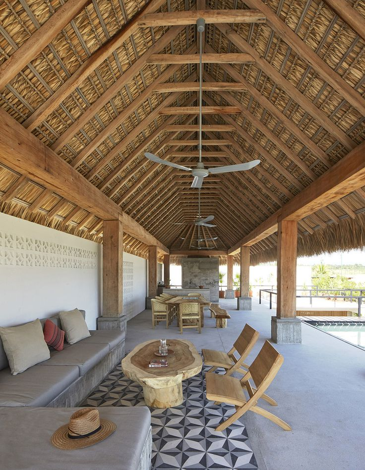Casa Cal, designed by Alfonso Quiñones of Mexico City studio Baaq. Near Puerto Escondido, Oaxaca. Photo © Edmund Sumner