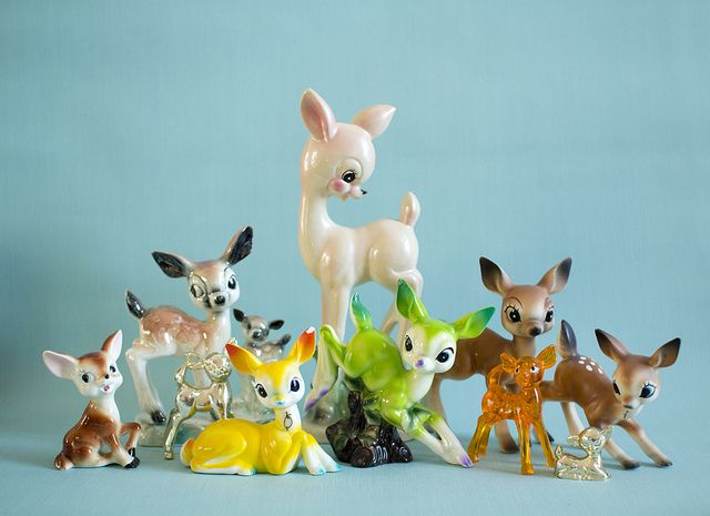 Deer collection by Made with love by Cecilie, via Flickr