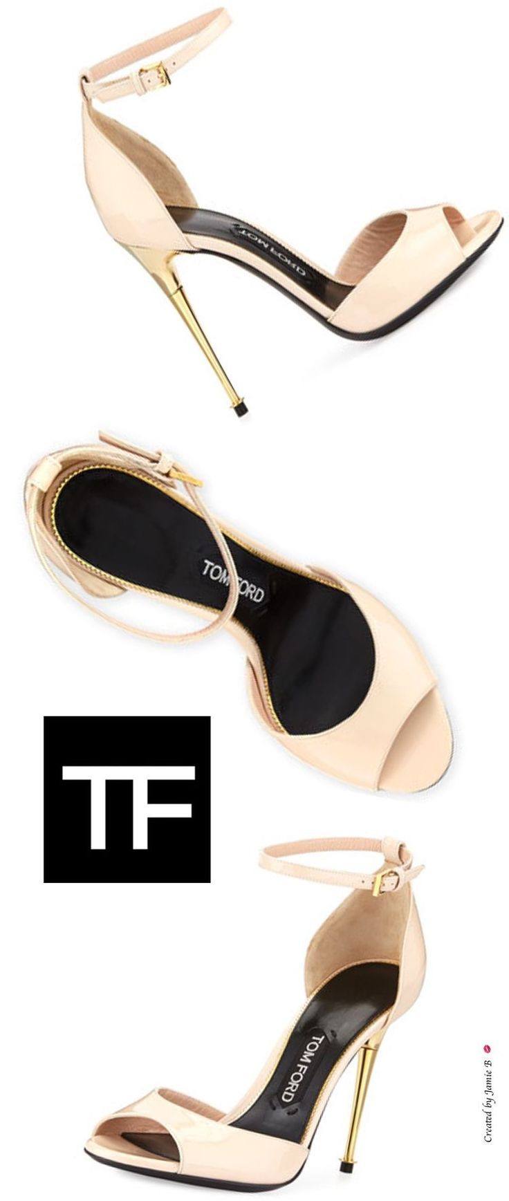 Tom Ford Embroidered Cutout Flats Manchester sale online cheap sale professional clearance store mHQ79L0ZJ