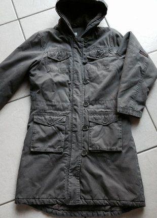 À vendre sur #vintedfrance ! http://www.vinted.fr/mode-femmes/manteaux-dhiver/26205602-manteau-a-capuche-coloris-brun-clair-kiabi-3436