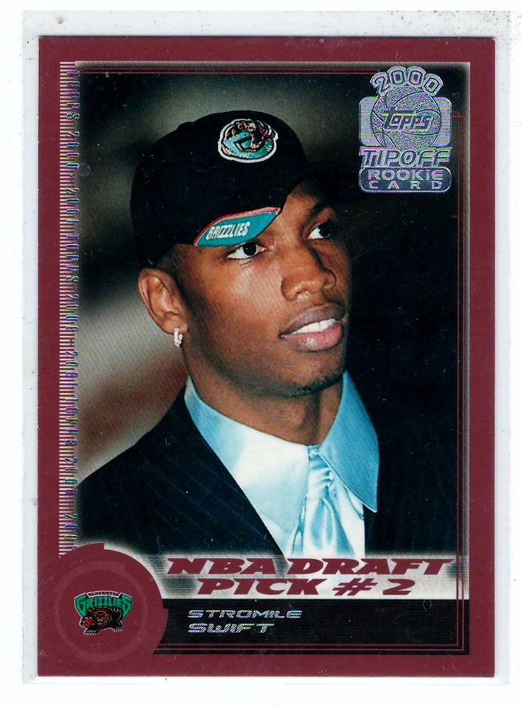 Sports Cards Basketball - 2000-2001 Topps Tip Off (NBA Draft Pick # 2) Stromile Swift