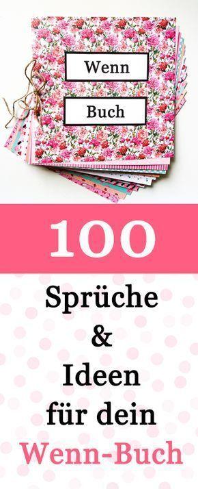 100 Wenn Buch Sprüche und Ideen – Nicole Holzhauser