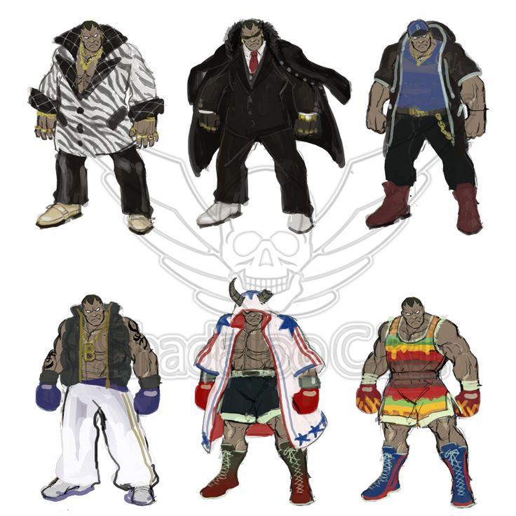 Balrog Street Fighter 5 Costume Designs image #3