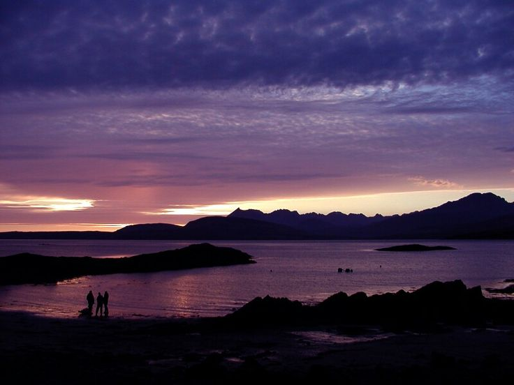The Cuillin from Ord, Isle of Skye