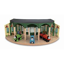 Wooden Railway Tidmouth Sheds $90 at TRUS