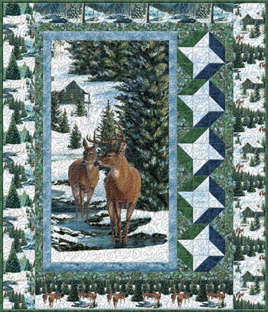 Wilmington Winter Stillness Woodland Quilt Pattern