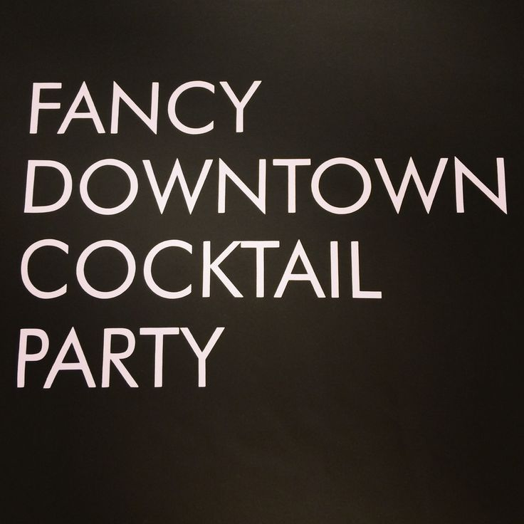 fancy downtown cocktail party