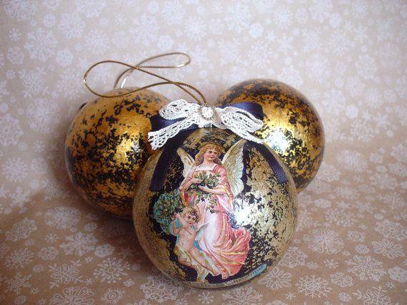 Рождественский бал.  Рождественские украшения (украшения)