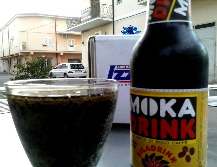 Moka Drink - Sila Drink (Coffee sparking drink, Calabria)