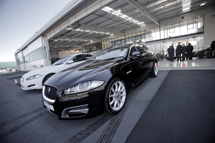 Jaguar Driving Day @ Auckland Heliport