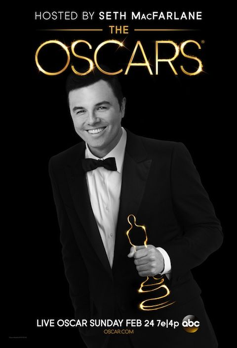 Seth MacFarlane Is All Smiles In The 2013 Academy Awards Poster - CinemaBlend.com    Watch the live show at Theatre Calgary's 19th annual Night With the Stars Gala on Feb. 24! Get your tickets at http://theskoop.ca/events/5119209fd87c1a2c14054ab2