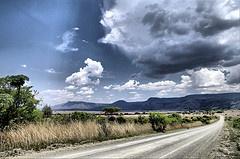 Storm clouds building Dullstroom