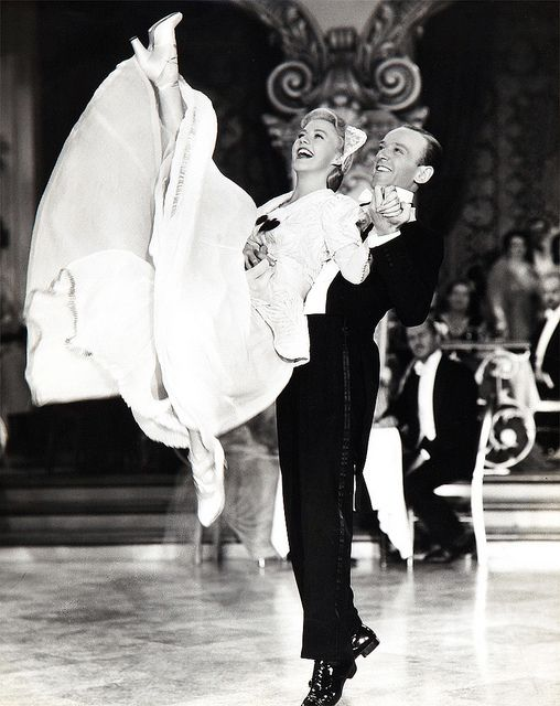 Ginger Rogers and Fred Astaire | Flickr - Photo Sharing!------------Publicity shot