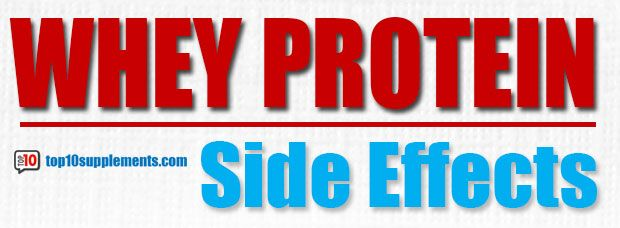What Are Some of the Whey Protein Side Effects? | Whey Protein Benefits