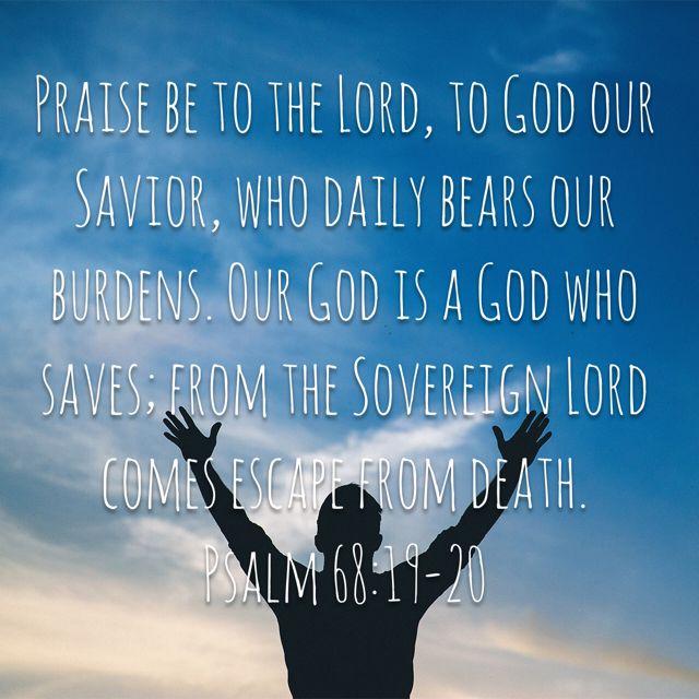 Psalm 68:19-20