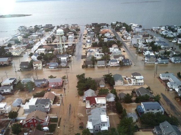 Brant Beach | 25 Incredible Pictures Of Hurricane Sandy's Destruction In New Jersey