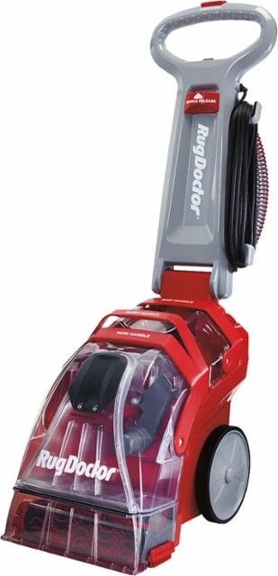 Rug Doctor - Upright Deep Cleaner - Red/Gray - Angle_Zoom