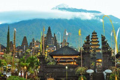 バリ倶楽部さすけのブログ: バリ島の総本山、ブサキ寺院はどういう寺院?