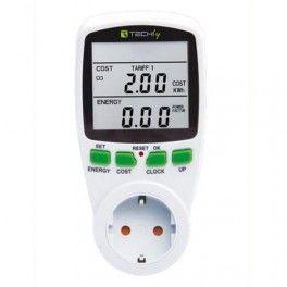 Rilevatore di consumi e costi energetici, con questo strumento controlli i consumi dei tuoi elettrodomestici.. pensa puoi verificare quanti soldi butti con i vecchi elettrodomestici di casa .. ah non male , ci avevi mai pensato ?