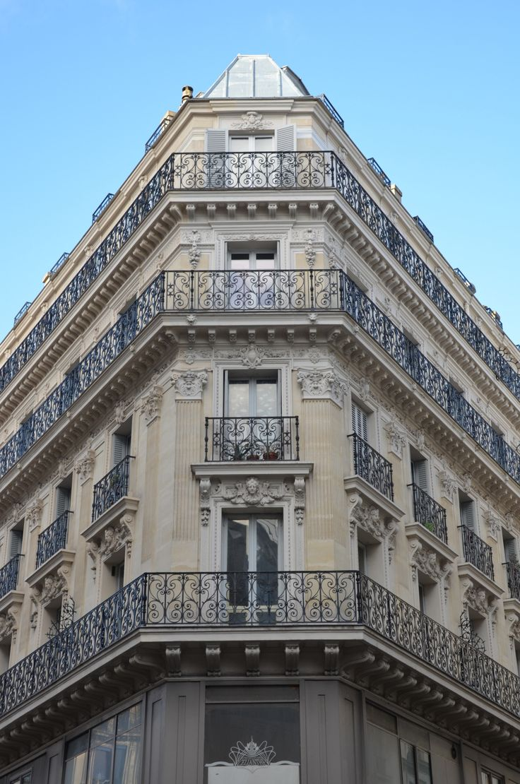 1000 images about haussem on pinterest interesting for Paris architecture style