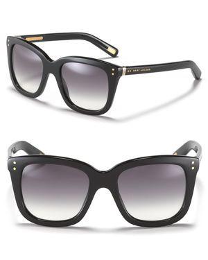 extreme fade oversized wayfarer sunglasses