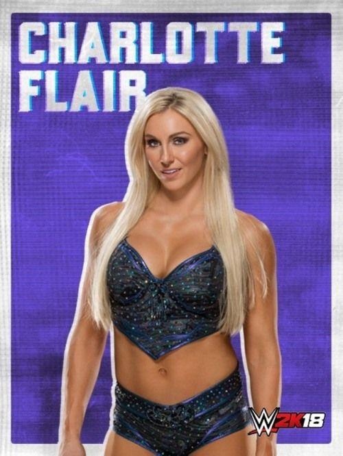 Charlotte Flair on WWWE 2k18