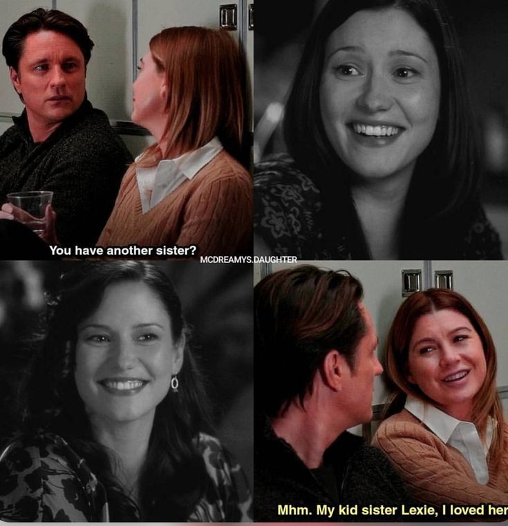 It's hard not to fall in love with Lexie, let's be honest!❤️