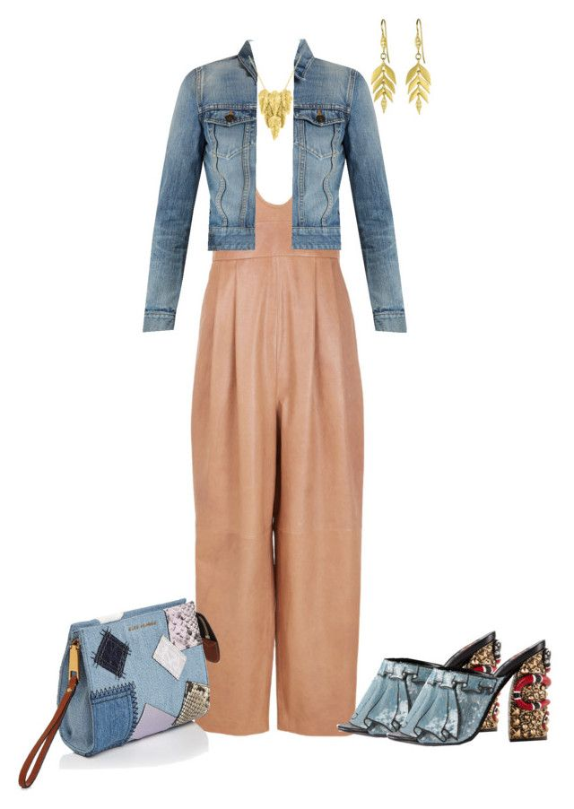 """Edge of Fierce"" by sweetnuff on Polyvore featuring TIBI, Yves Saint Laurent, Gucci, London Road and Marc Jacobs"