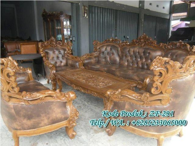 Set Kursi Tamu Royal Ukiran Jati Jepara