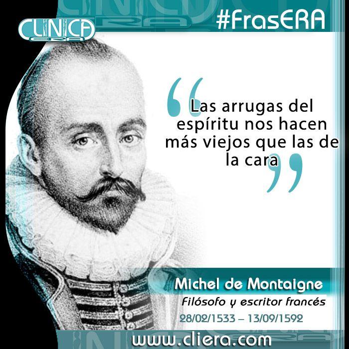 Frasera Michel De Montaigne Fue Un Filósofo Escritor