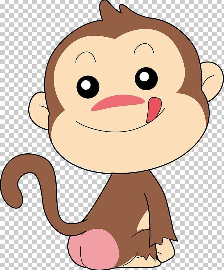 Monkey Cartoon Png Clipart Animals Carnivoran Cartoon Monkey Cat Like Mammal Chinese Zodiac Free Png Download Cartoon Monkey Cartoons Png Mammals