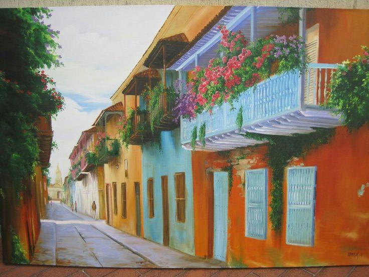 1000+ images about Románticos balcones , puertas, fuertes calles y ...