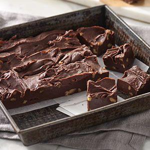 Eaglebrand foolproof chocolate fudge... The milk chocolate variation is my favorite fudge recipe!