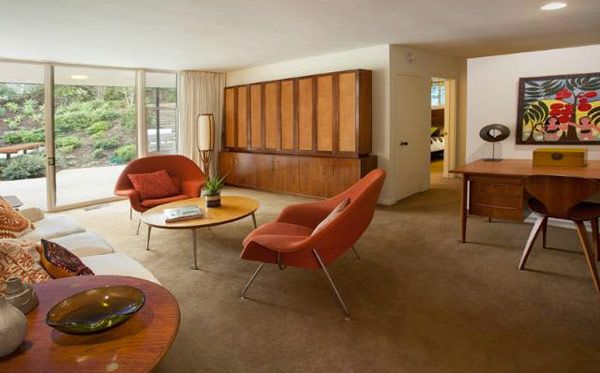Classic mid century modern home