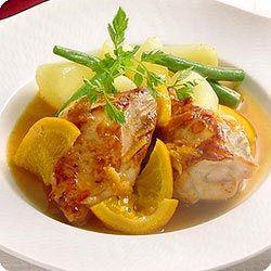 チキンのマーマレード照り焼き (レシピNo.1463)|ネスレ バランスレシピ