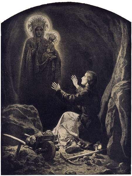 Artur Grottger - Lituania, VI. Widzenie, 1866
