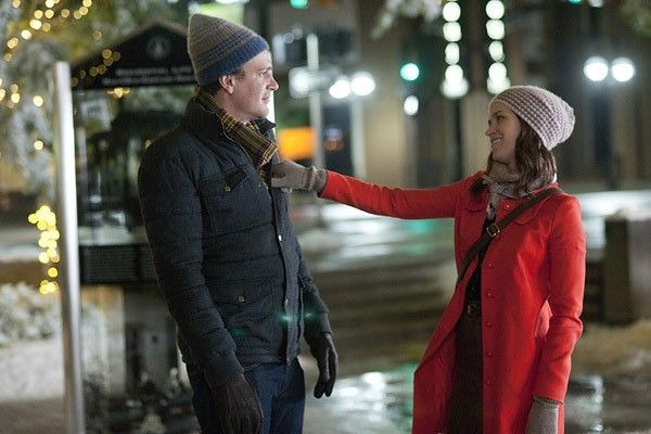 """Jason Segel puts a ring on Emily Blunt in the new rom-com """"The Five-Year Engagement,"""" but it's not funny how far away the altar is. http://ti.me/JD8Hd8"""